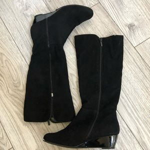 Impo Tall wedge boot
